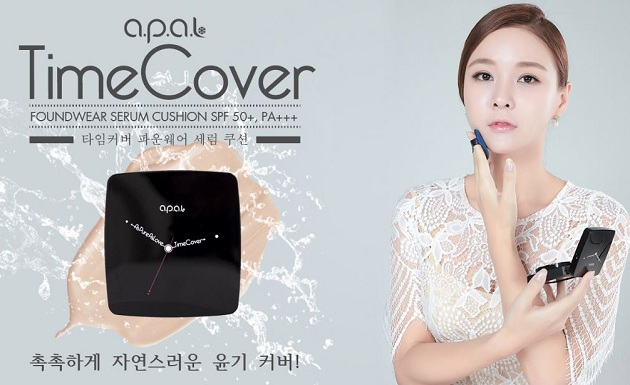 Phấn nước A.P.A.L Time Cover Foundwear Serum Cushion SPF50+ PA+++