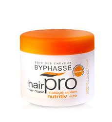 Dầu hấp dành cho tóc khô và hư tổn  BYPHASSE HAIR MASK HAIRPRO NUTRITIV RICHE