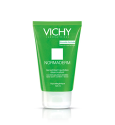 Gel rửa mặt ngừa mụn Vichy Normaderm Daily Exfoliating Cleansing Gel