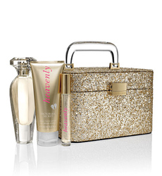 Heavenly Glitter Train Case Giftset