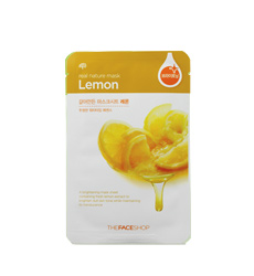 Mặt nạ TheFaceShop Real Nature Mask Sheet Lemon