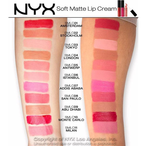 Son dạng kem NYX Soft Matte Lip Cream - Photo 6