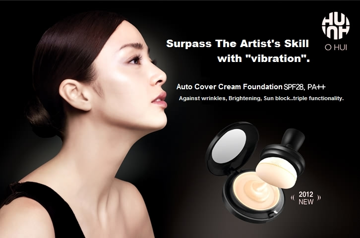 Kem che khuyết điểm Ohui Auto Cover Cream Foundation - Photo 4