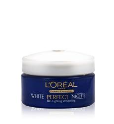 Kem dưỡng trắng da ban đêm Loreal White Perfect Whitening Night Cream