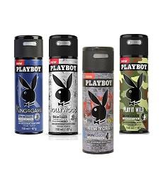 Xịt toàn thân Playboy các mùi (Nam)