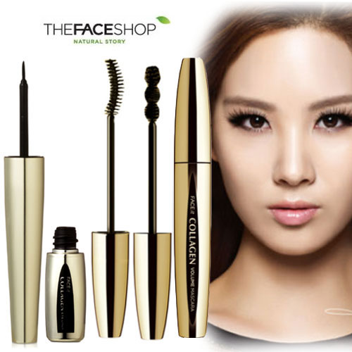 Mascara TheFaceShop Face It Collagen Volume - Photo 3