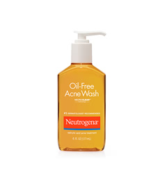Gel rửa mặt Neutrogena Oil Free Acne Wash