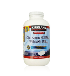 Thuốc trị đau khớp Kirkland Glucosamine 375 viên (USA)