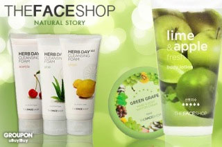 Kem dưỡng thể TheFaceShop Green Grape Hand & Body Shiffon Cream - Photo 4