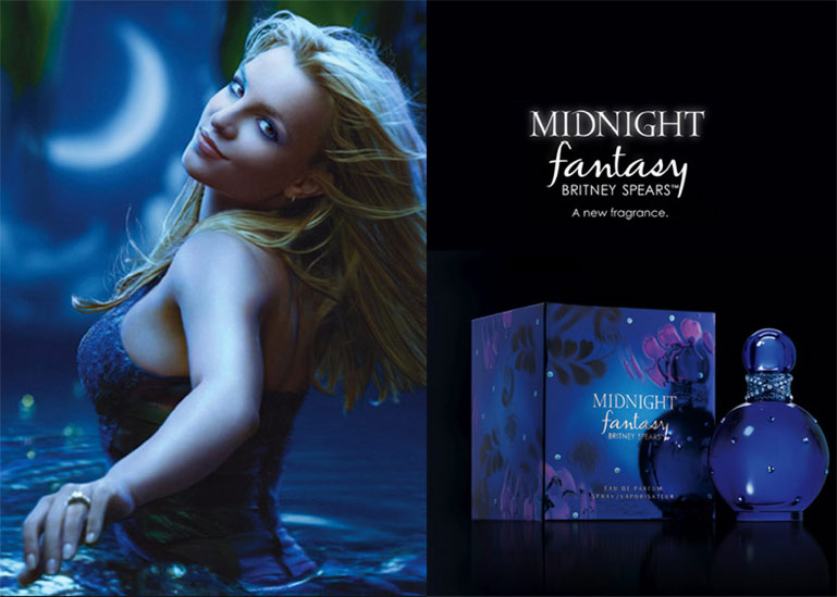 Nước hoa Britney Spears Midnight Fantasy - Photo 4