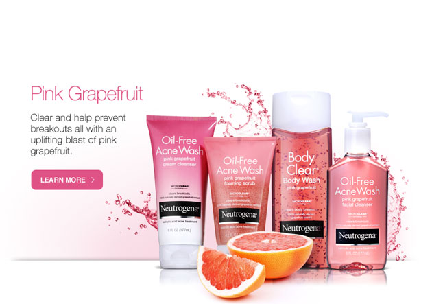 Sữa Rửa Mặt Trị Mụn Neutrogena Oil-Free Acne Wash Pink Grapefruit Foaming Scrub - Photo 3