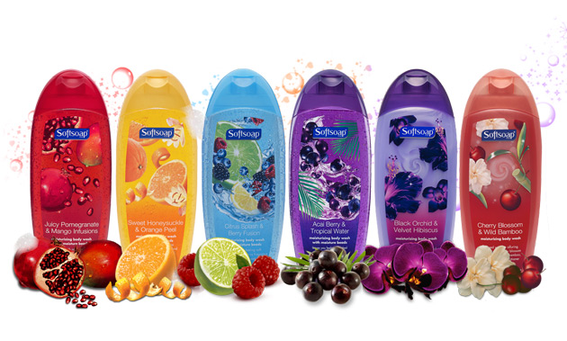 Sữa Tắm Softsoap Juicy Pomegranate & Mango Infusions 532ml - Photo 3