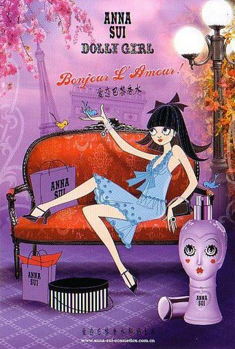 Nước hoa Anna Sui Dolly Girl Bonjour LAmour - Photo 4