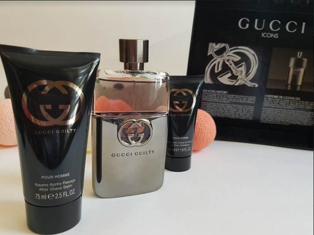Nước hoa Gift Set Gucci Guilty for Men 3pcs