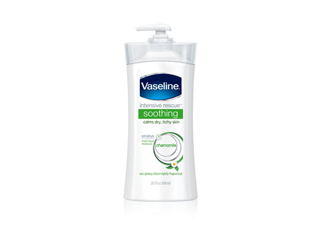 Dưỡng thể Vaseline Intensive Rescue Soothing Chamomile Body Lotion