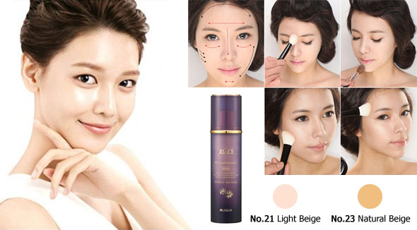Kem nền RIACE JM LIQUID FOUNDATION SPF 20 - Photo 3