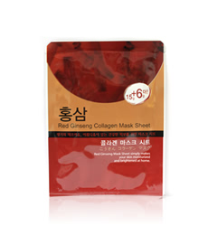 Mặt Nạ Charming Red Ginseng Collagen Mask Sheet