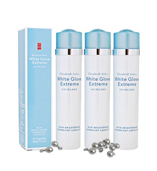 Kem dưỡng ẩm trắng da Elizabeth Arden White Glove Extreme Skin Brightening Overnight Capsules