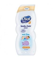 Sữa tắm gội cho trẻ em Dial Kids