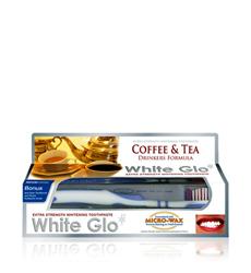 Kem đánh răng White Glo cho người uống trà và cà phê