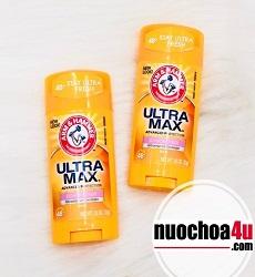 lăn khử mùi nữ arm & hammer ultra max powder fresh 73g usa
