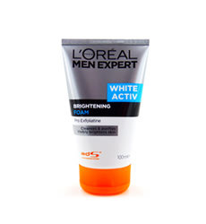 Sữa rửa mặt cho nam Loreal Men Expert White Activ Brightening Foam