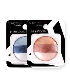 Phấn Màu Mắt Vacosi Eyeshadow 3 Màu (Vỉ)