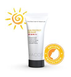 Kem chống nắng trang điểm Vacosi sunprotect BB base spf 50 pa+++