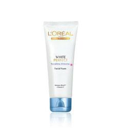 Sữa rửa mặt trắng da Loreal White Perfect Facial Foam