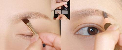 Bột tán chân mày TheFaceShop Face it Designing Cake EyeBrown - Photo 3
