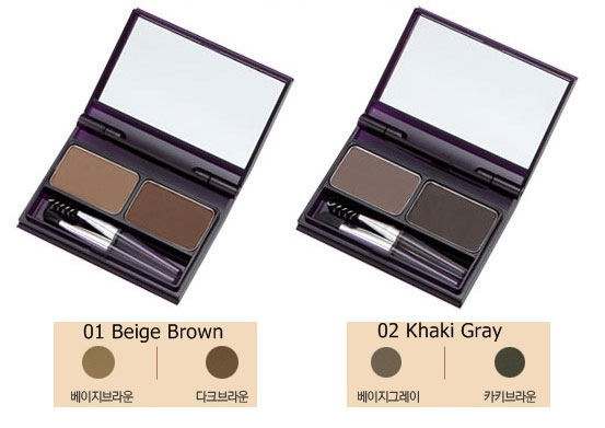 Bột tán chân mày TheFaceShop Face it Designing Cake EyeBrown - Photo 5