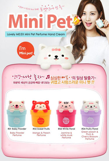 Kem dưỡng tay TheFaceShop Mini Pet Floral - Photo 3