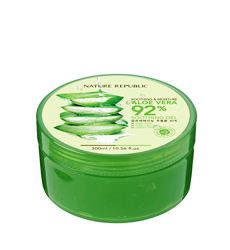 Gel Lô Hội Nature Republic Aloe Vera Soothing and Moisture Aloe Vera 92% Soothing Gel