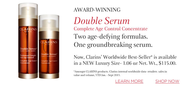 Mỹ phẩm Serum Ngăn Ngừa Lão Hóa Clarins Double Serum Complete Age Control Concentrate - Photo 3