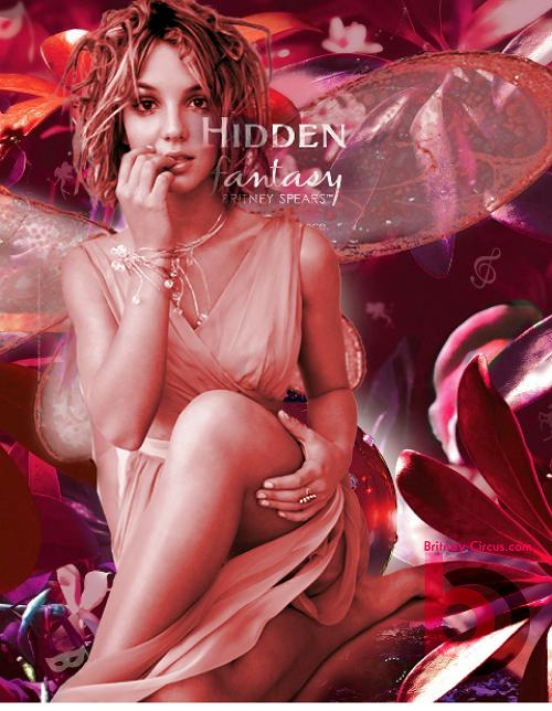 Nước hoa Britney Spears Hidden Fantasy - Photo 5