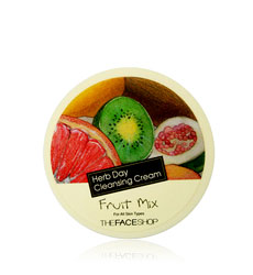 Kem tẩy trang THEFACESHOP - Herb Day Cleansing Cream Fruit Mix