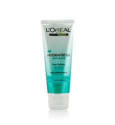 Gel rửa mặt giữ ẩm dành cho da nhờn và da hổn hợp Loreal Hydrafresh Instant Freshness Foaming gel