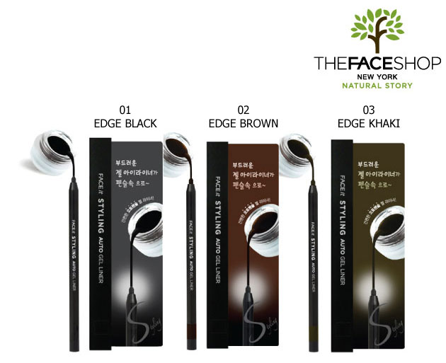 Kẻ viền mắt dạng gel TheFaceShop Face It Styling Auto Gel Liner - Photo 6