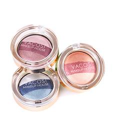 Phấn Màu Mắt Vacosi Eyeshadow 3 màu (Hộp)