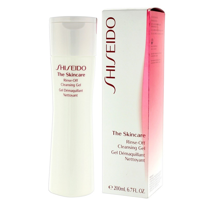 Gel tẩy trang Shiseido The Skincare Rinse-Off Cleansing Gel - Photo 3