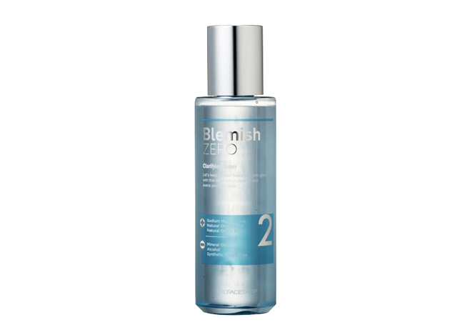 Nước hoa hồng TheFaceShop Clean Face Blemish Zero Clarifying Toner - Photo 2
