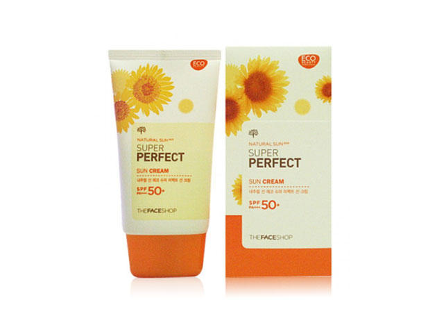 Kem chống nắng TheFaceShop Natural Sun Super Protect Sun Cream