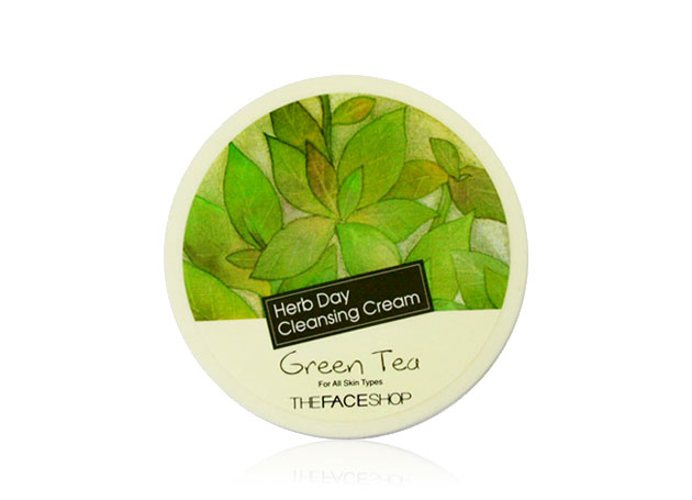 Kem tẩy trang TheFaceShop Herb Day Cleansing Cream Green Tea - Photo 2