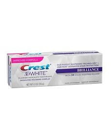 Kem Đánh Răng Làm Trắng Crest 3D White Brilliance
