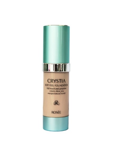 Kem nền Rosee Crystia Soft Feel Foundation Rosee