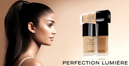Kem nền Chanel Lift Lumiere Firming And Smoothing Fluid Makeup - Photo 4