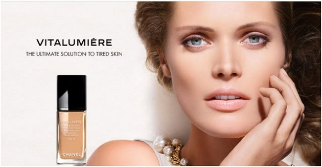Kem nền Chanel Lift Lumiere Firming And Smoothing Fluid Makeup - Photo 5