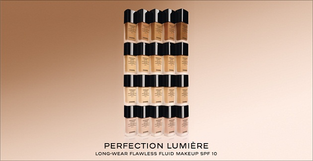 Kem nền Chanel Lift Lumiere Firming And Smoothing Fluid Makeup - Photo 6