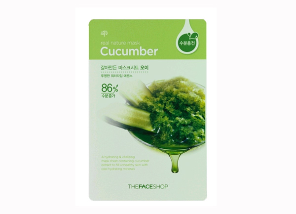 Mặt nạ giấy TheFaceShop Real Nature Mask Sheet Cucumber