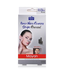 Miến dán mũi Mayan Skincare Power Nose Cleaning Strips Charcoal